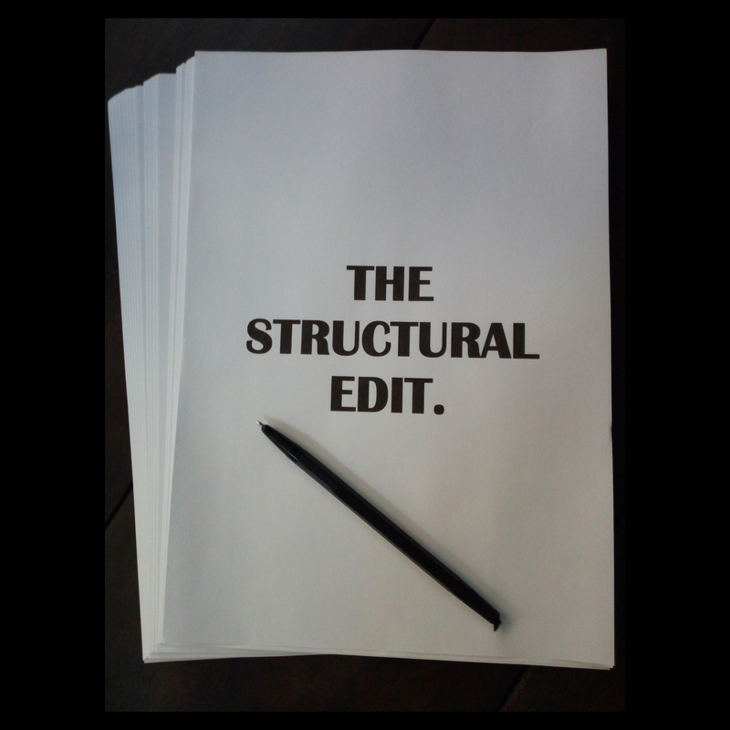 The structural edit